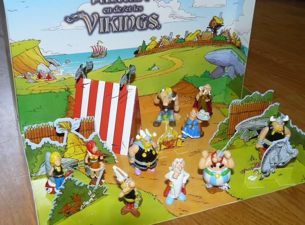 """Astérix et les vikings"" diorama kinder belge  2006 Dioram12"