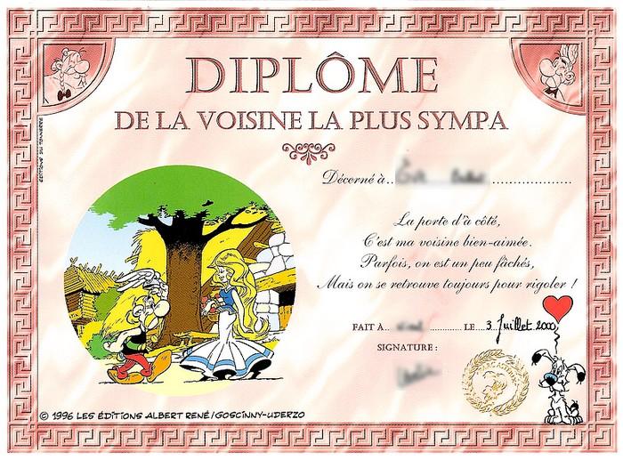 Diplôme, éditions du tonerre, 1996 Diplom11
