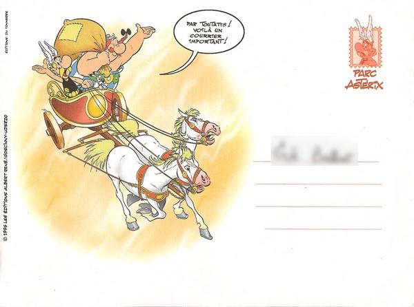Diplôme, éditions du tonerre, 1996 Envelo11