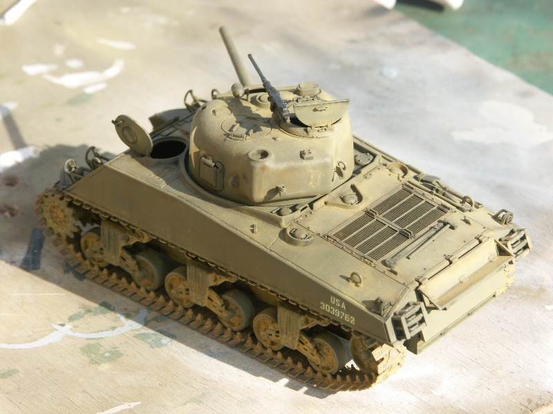 SHERMAN M4A3 [TAMIYA 1/35] Pict1113