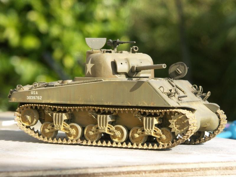 SHERMAN M4A3 [TAMIYA 1/35] Pict1115