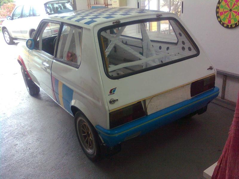 Talbot Samba Rallye in restauration Imagen13