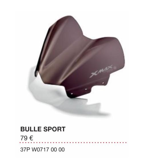 Bulle sport Xmax 2010 Bulle210