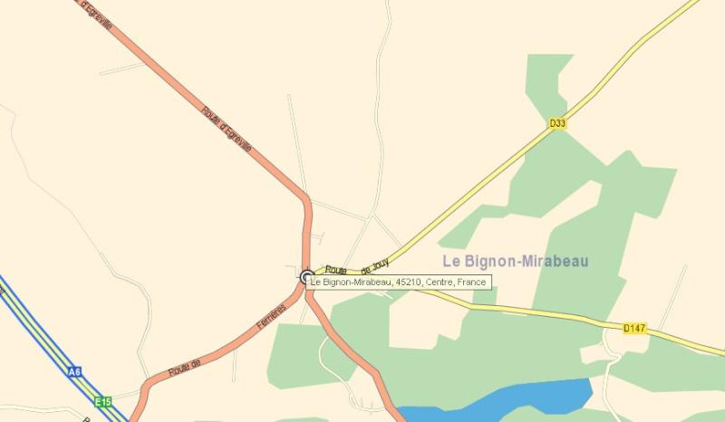 Terrain au Bignon Mirabeau Captur32