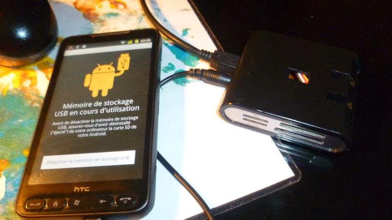 [MOBILEFUN.FR] Test d'une station d'accueil : le Desk Genie sur Génération mobiles P1020111