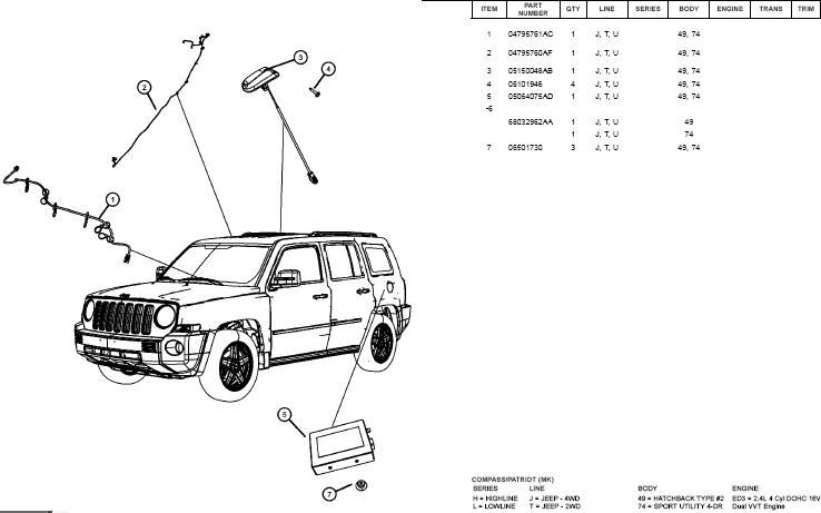 Тех.мануалы по ремонту и обслуживанию Jeep Patriot/Compass Jl110