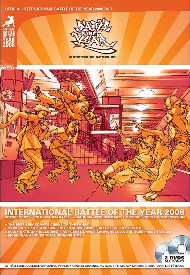 Battle of the Year 2008 International - Souds listas Boty2012