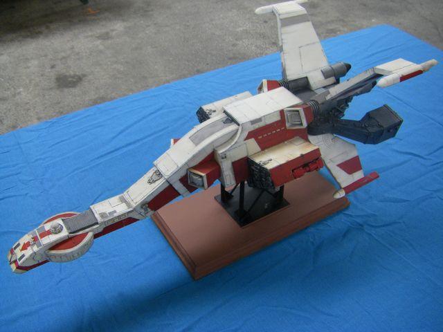 maquette du vaiseau bomberx Imgp4010