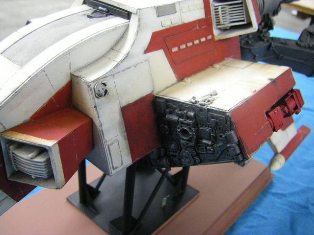 maquette du vaiseau bomberx Imgp4011