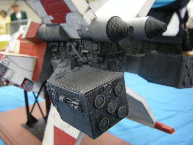 maquette du vaiseau bomberx Imgp4012