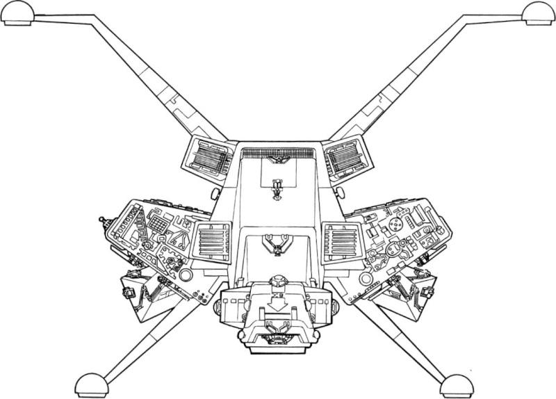 maquette du vaiseau bomberx Xb-fro10