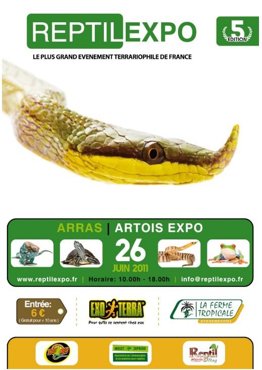 Afiche reptile expo 2011 (en avance pour vous ;-) Reptil10