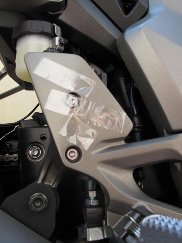 Protection carbone pour platine repose pied  photos + détails Img_0311