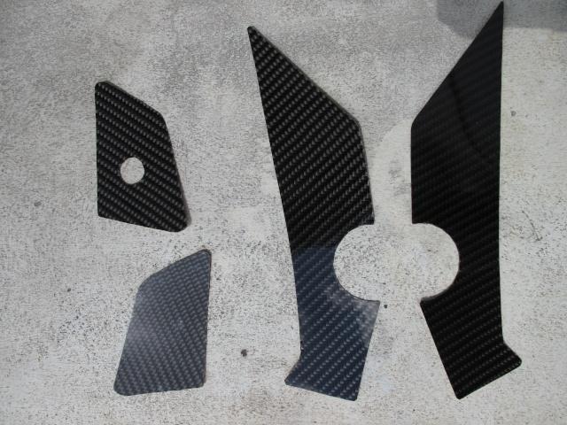 Protection carbone pour platine repose pied  photos + détails Img_0322