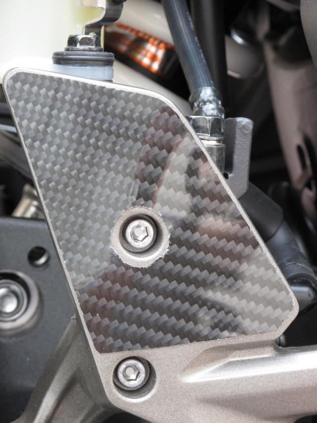 Protection carbone pour platine repose pied  photos + détails Img_0327