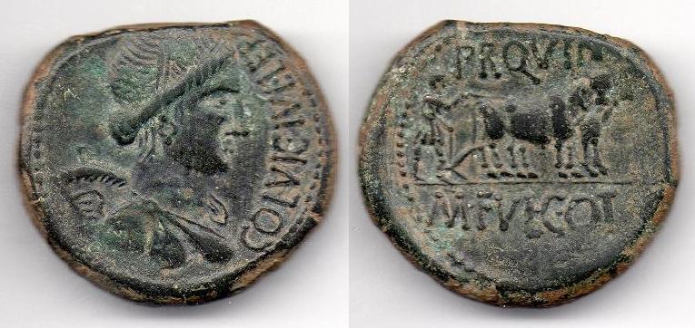 II CONCURSO IMPERIO-NUMISMÁTICO - //Hispano-Romanas// 132