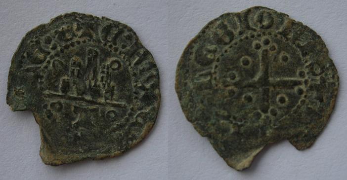 Moneda castellana inédita (requiere de investigación profunda) 159