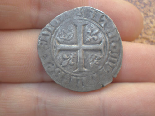 Blanca de Charles VI rey de Francia 1380-1422. 20242611