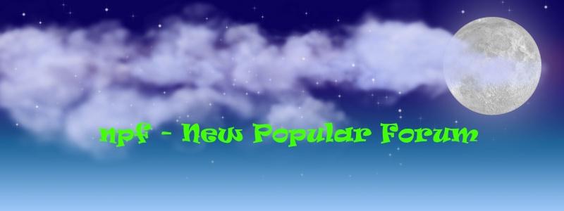 New Popular Forum