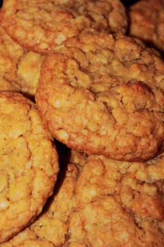 Biscuit a l'orange et au gruau Biscui12