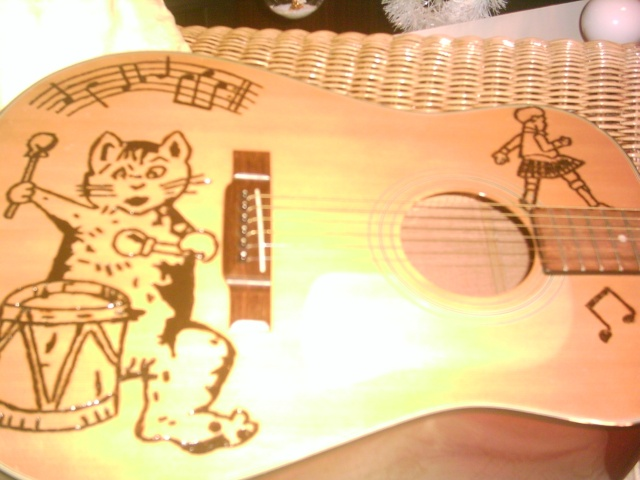 judged by your wood................... Guitar13