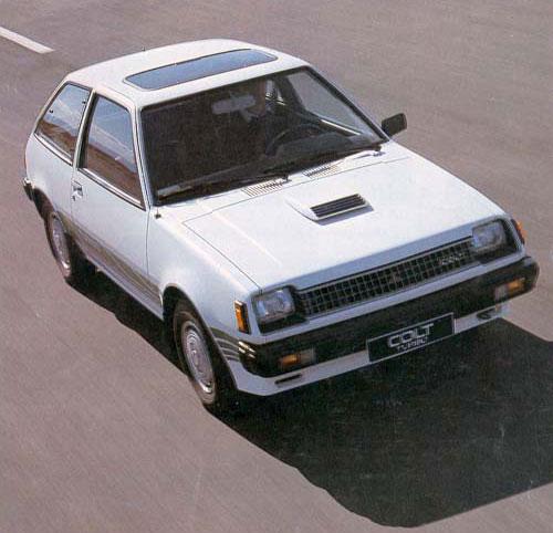 MITSUBISHI COLT 1400 TURBO Ouvert11