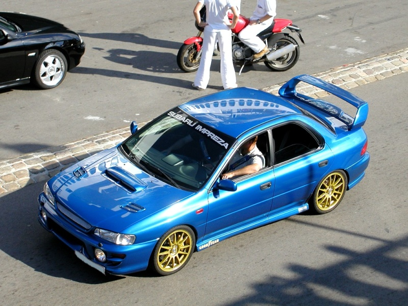 SUBARU IMPREZA GT TURBO (1992 - 2000) Subaru11