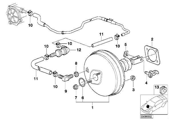 [ BMW E39 530d M57 an 2001 ]  Changement Mastervac comment faire ? (résolu) 8910