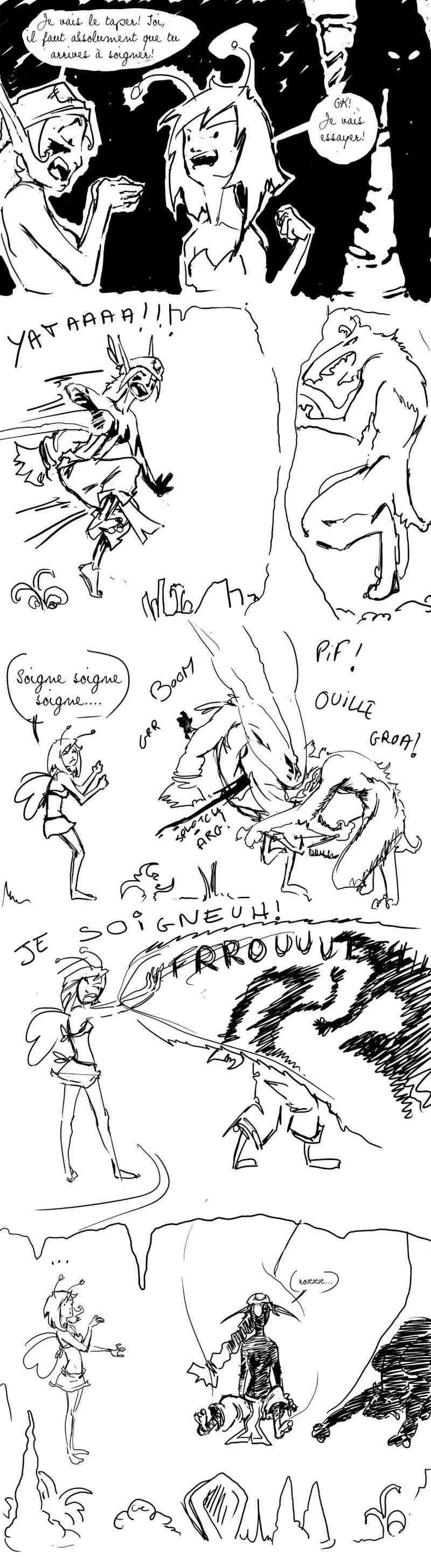 seik et ekis, les aventures ILLUSTREES - Page 4 Strip110