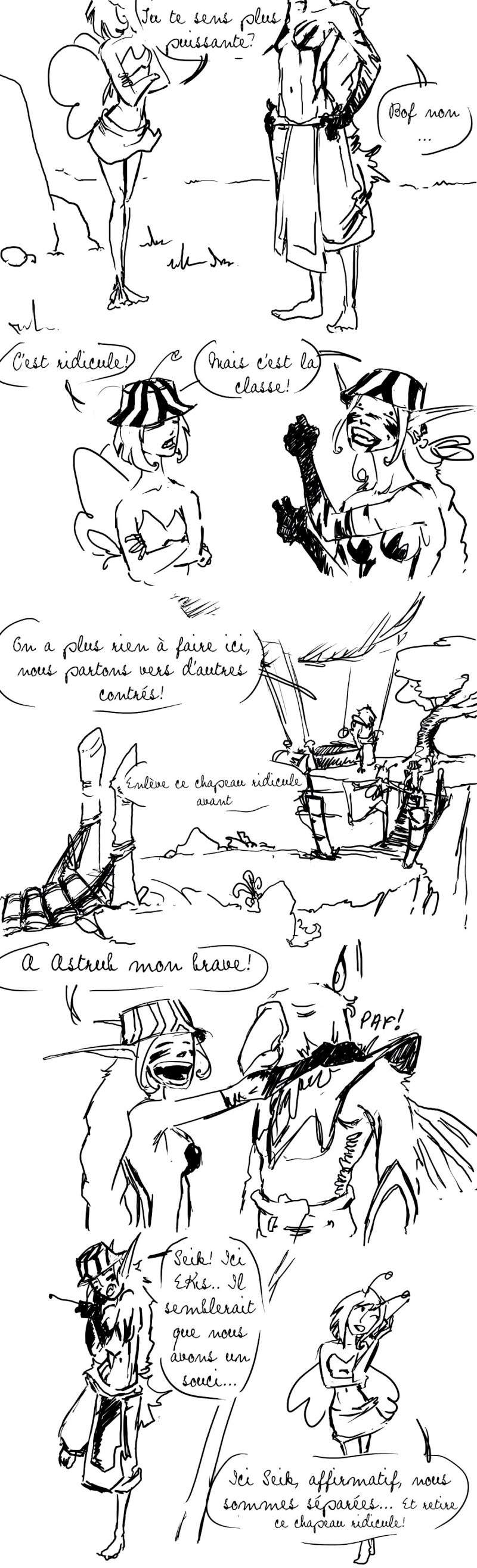 seik et ekis, les aventures ILLUSTREES - Page 4 Strip111