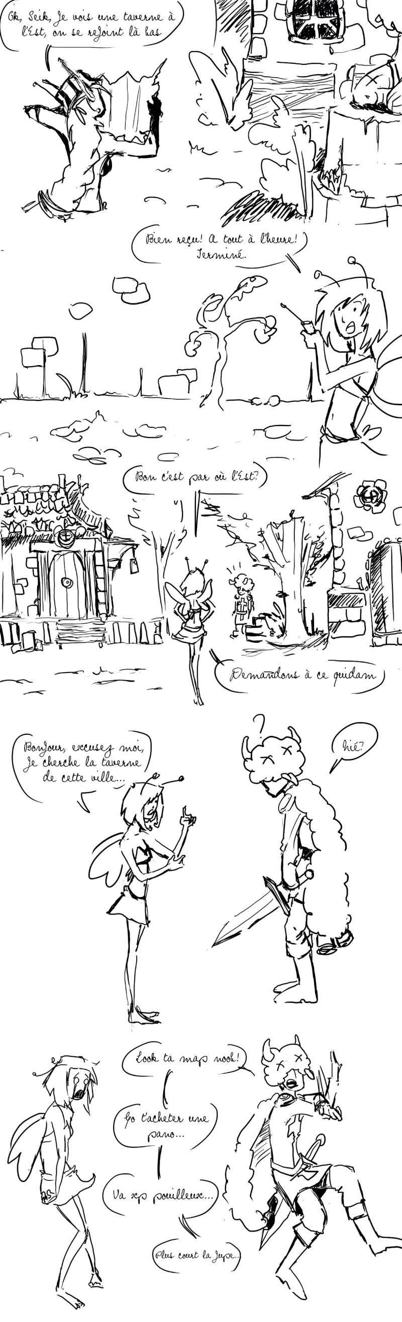seik et ekis, les aventures ILLUSTREES - Page 4 Strip112