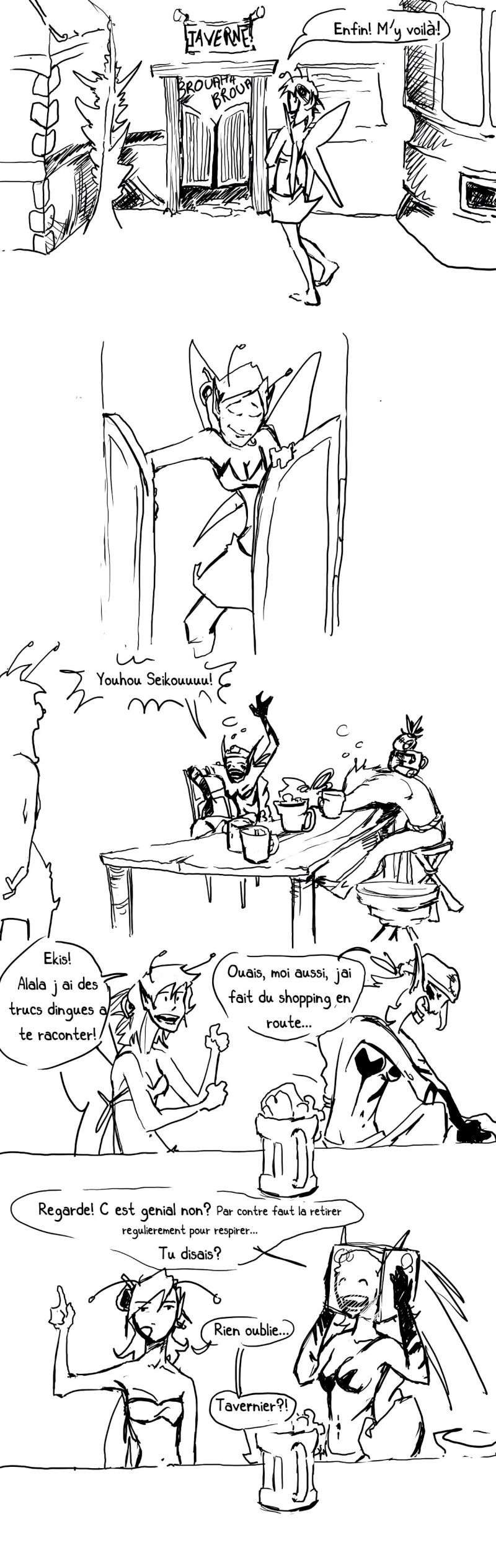 seik et ekis, les aventures ILLUSTREES - Page 4 Strip116