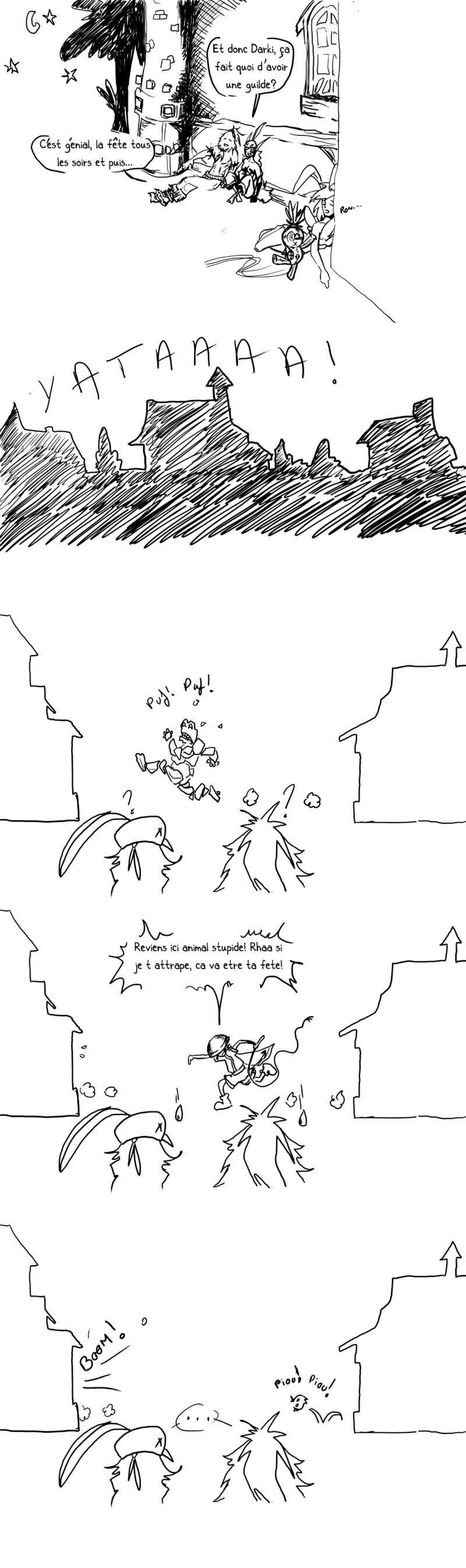 seik et ekis, les aventures ILLUSTREES - Page 4 Strip119