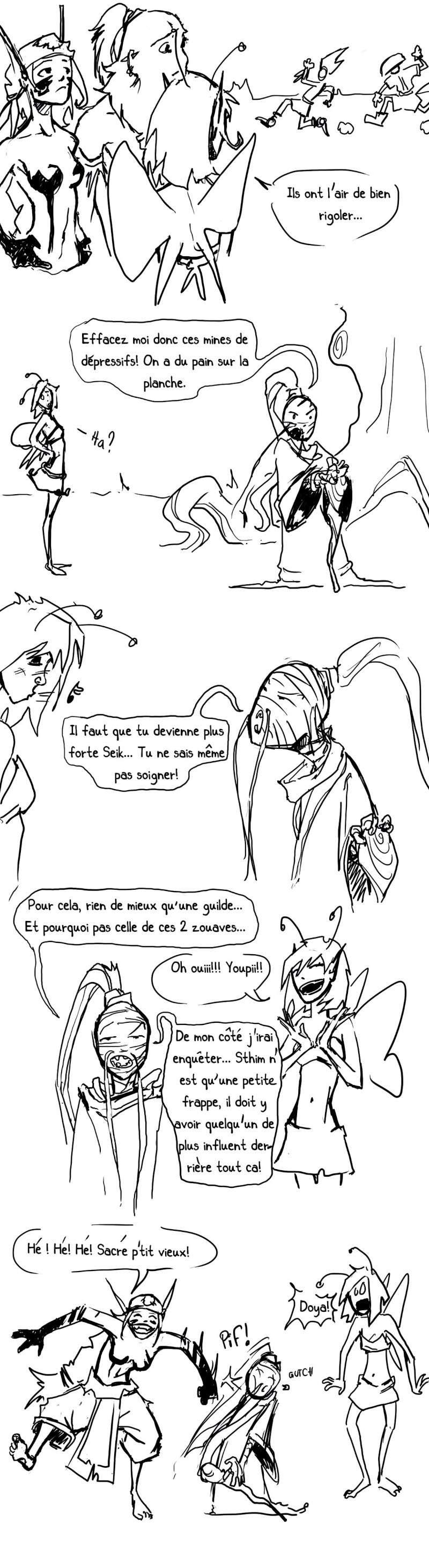 seik et ekis, les aventures ILLUSTREES - Page 2 Strip310