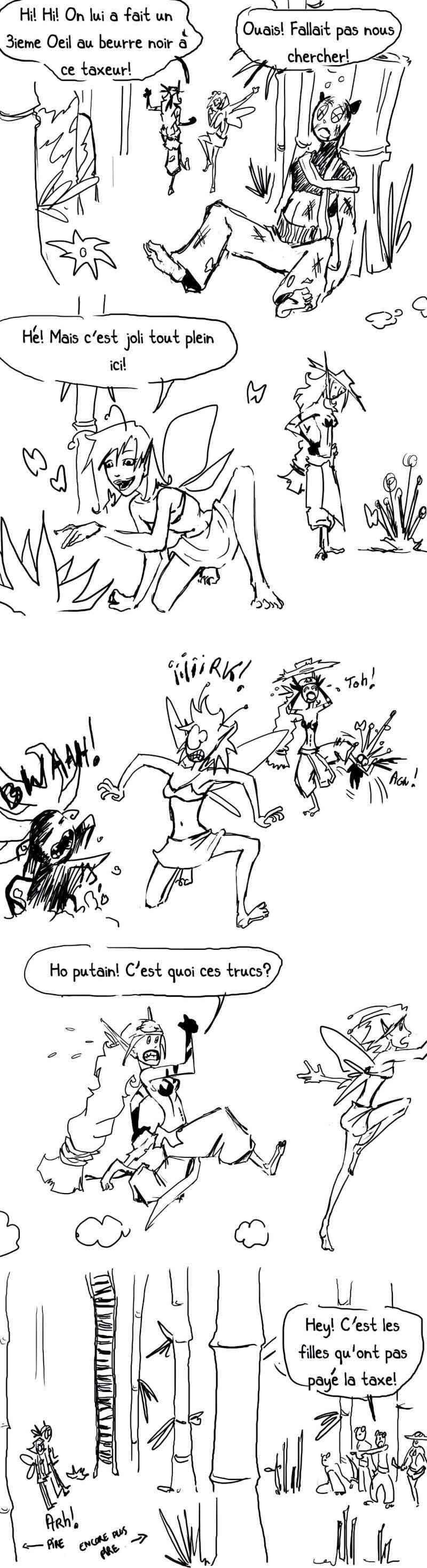 seik et ekis, les aventures ILLUSTREES - Page 2 Strip314