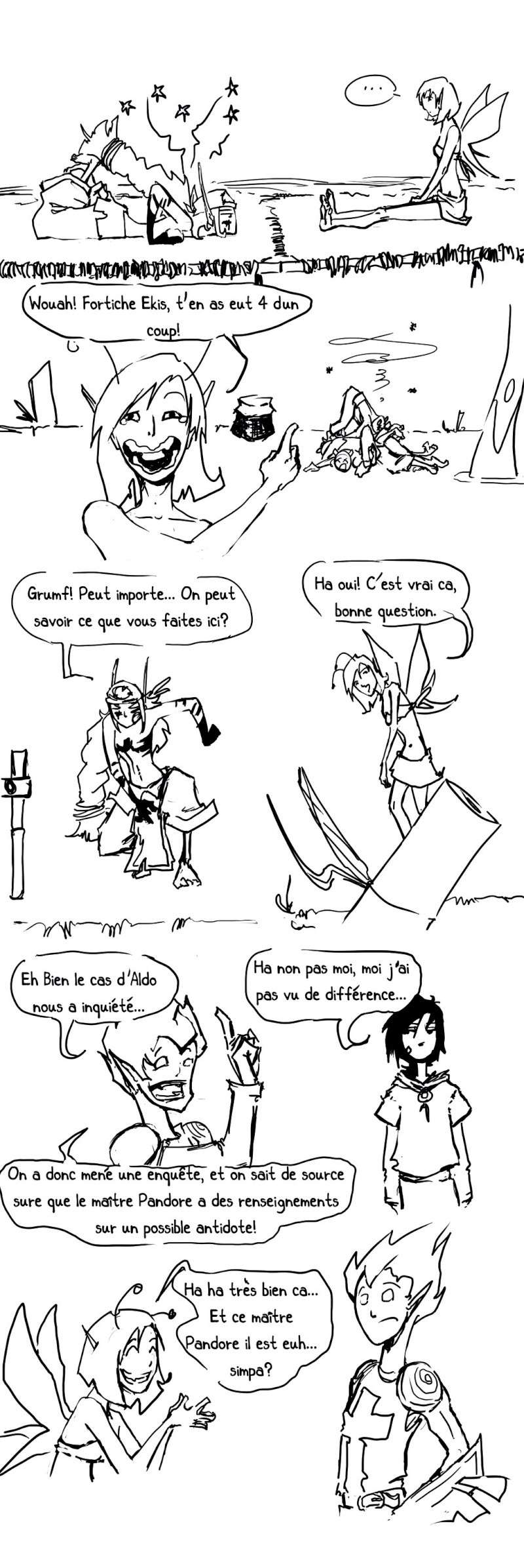 seik et ekis, les aventures ILLUSTREES - Page 2 Strip319