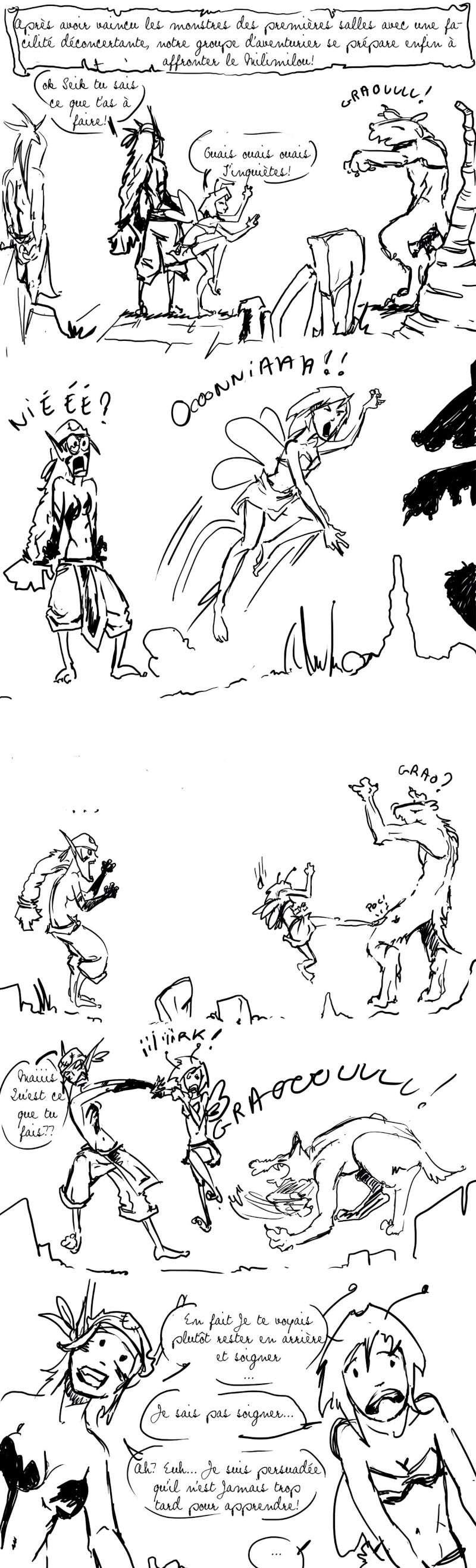seik et ekis, les aventures ILLUSTREES - Page 4 Strip911