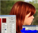 Photoshopda saç rəngini dəyişmək üçün dərslik K10