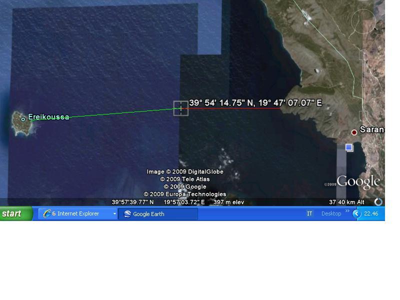 EKSKLUZIVE/ Harta sekrete, Greqisë i falim kufirin deri në Qeparo Demark10