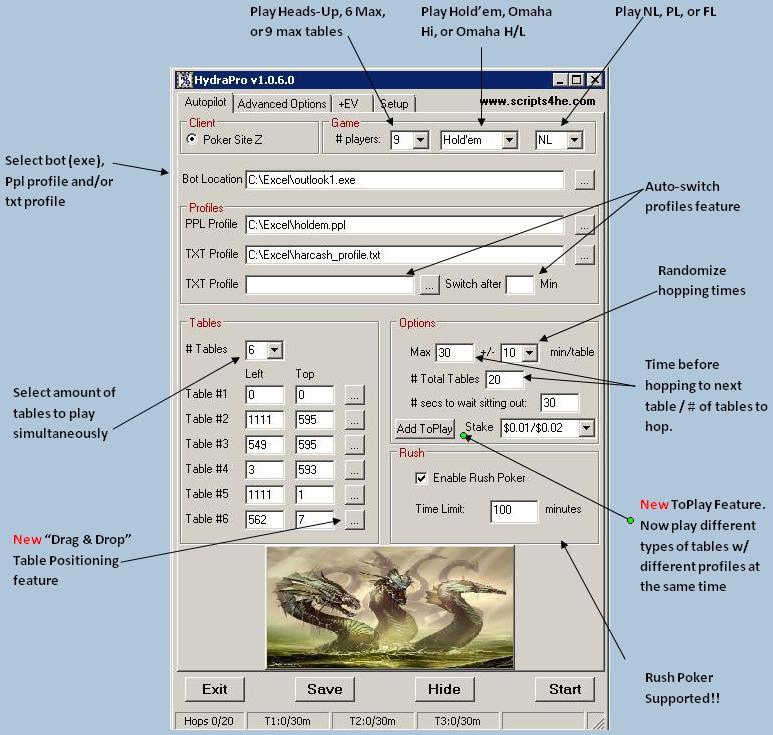 <<*POKER SITE Z HYDRA CASH HOPPERS W/ FREE TRIAL*>> Hpro111