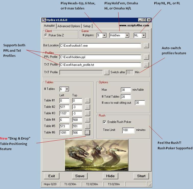 <<*POKER SITE Z HYDRA CASH HOPPERS W/ FREE TRIAL*>> Hydra111