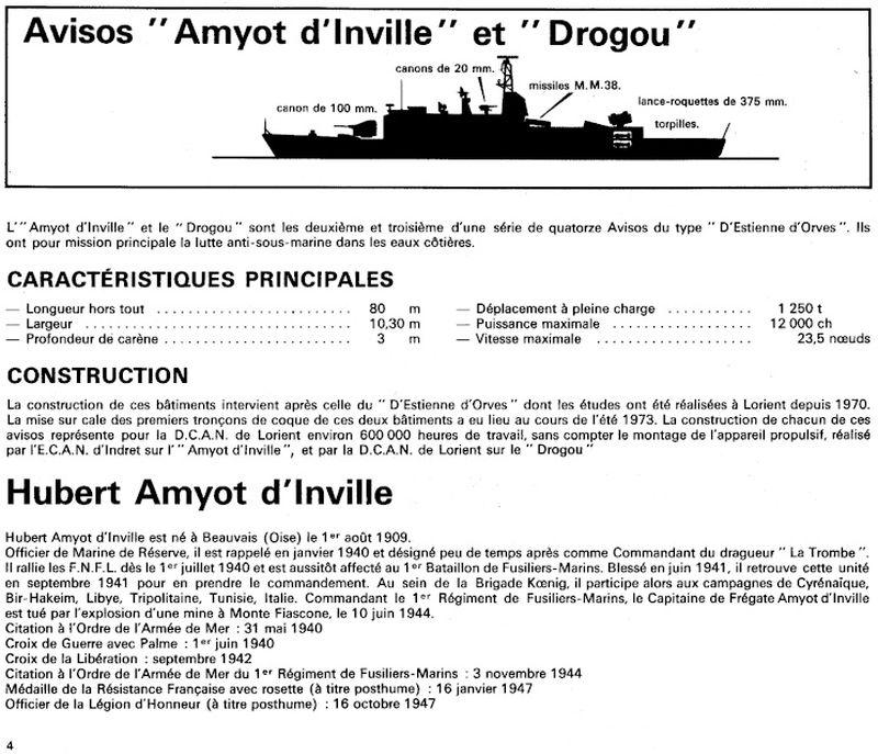 AMYOT D'INVILLE [AVISO] 260
