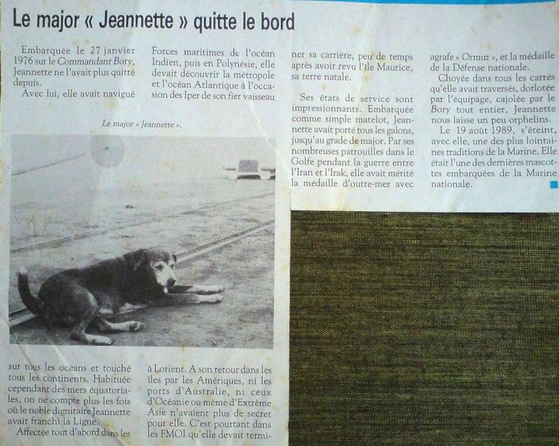 mascottes - [ Les traditions dans la Marine ] LES MASCOTTES DANS LES UNITÉS DE LA MARINE - Page 9 Articl10