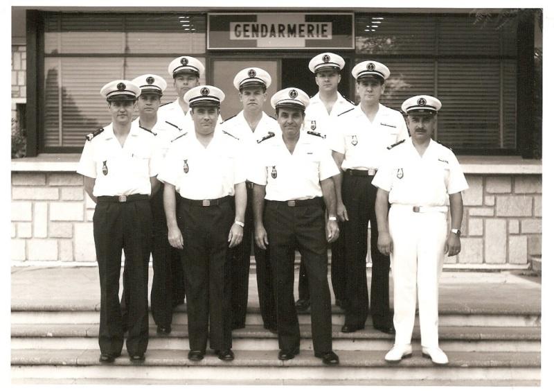 [Les écoles de spécialités] École de Gendarmerie Maritime Toulon. Brigad10