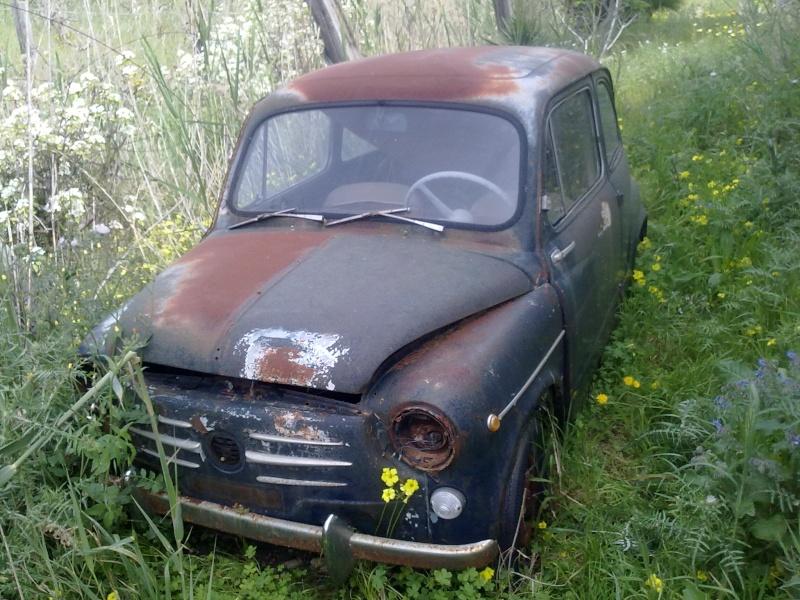 """La mia """"povera"""" Fiat 750! 30032010"""