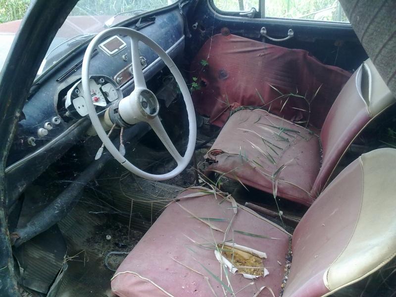 """La mia """"povera"""" Fiat 750! 30032014"""