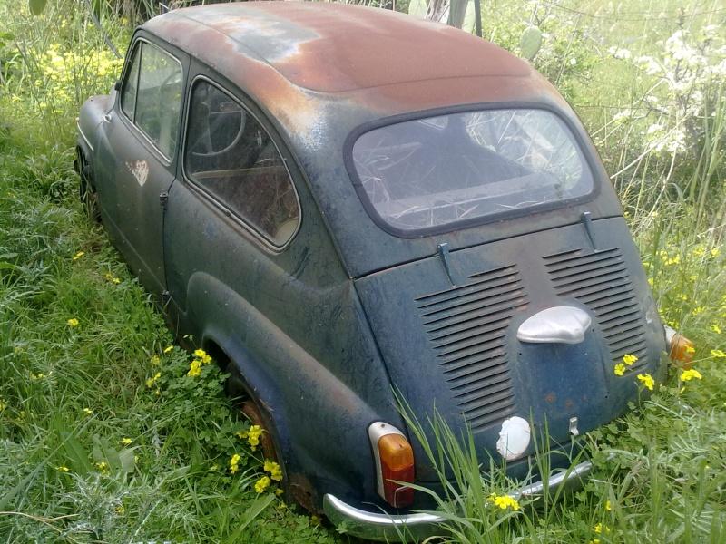 """La mia """"povera"""" Fiat 750! 30032018"""