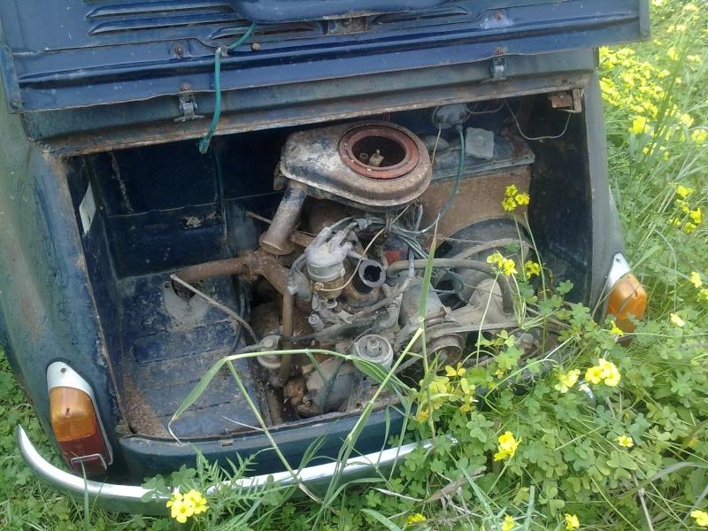 """La mia """"povera"""" Fiat 750! 30032020"""