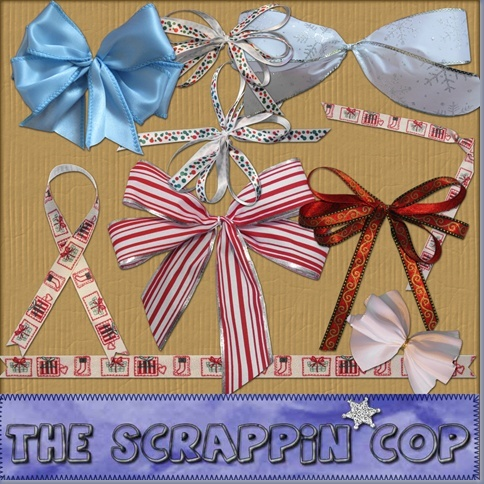 Christmas Bows - By: The Scrappin Cop Sc_chr10