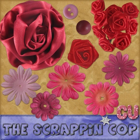 Valentine's Flowers - By: The Scrappin Cop Sc_vfl10
